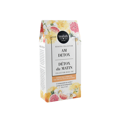 AM DETOX SACHETS<br><span>Green Tea</span>