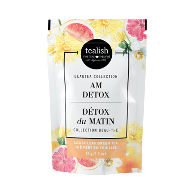 AM DETOX GIFT POUCH<br><span>Green Tea</span>