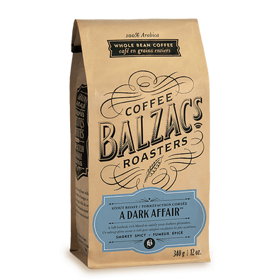 A DARK AFFAIR<br><span>Balzacs Coffee</span>