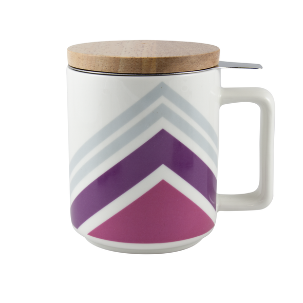 CANOE STRIPES - BREW-IN MUG <br><span>Tealish Durables</span>