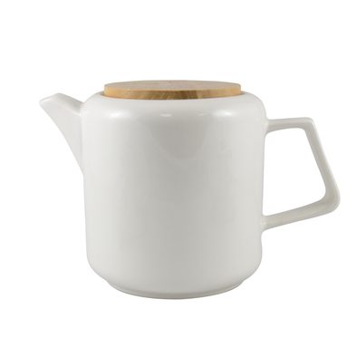 WHITE - MODERN TEAPOT<br><span>Tealish Durables</span>
