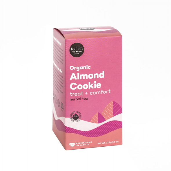 ORGANIC ALMOND COOKIE TEA SACHETS<br><span>Herbal Tea</span>