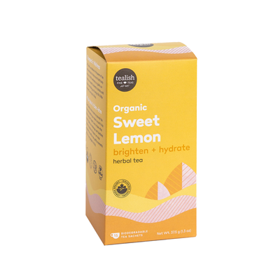 ORGANIC SWEET LEMON TEA SACHETS<br><span>Herbal Tea</span>