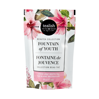 FOUNTAIN OF YOUTH GIFT POUCH<br><span>White Tea</span>