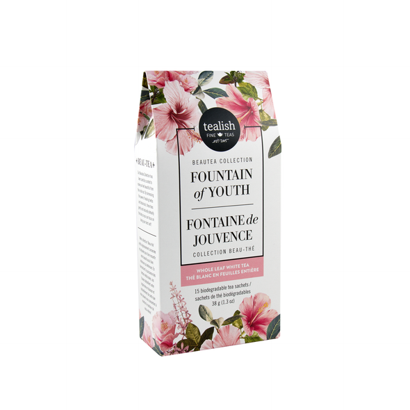 FOUNTAIN OF YOUTH SACHETS<br><span>White Tea</span>