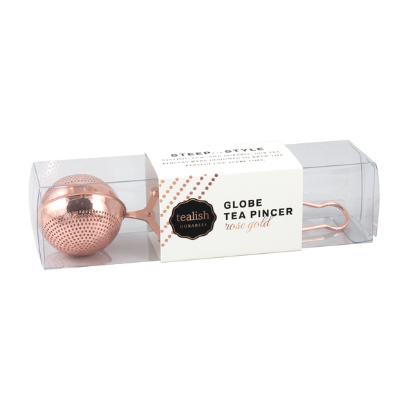 MESH BALL TEA PINCER<span>Rose Gold</span>