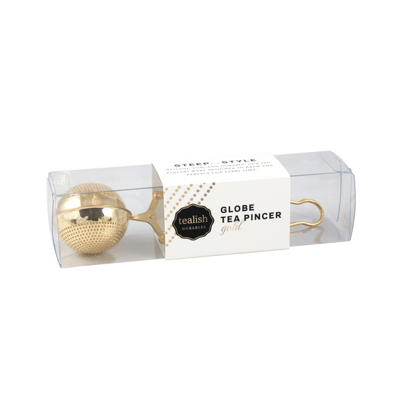 MESH BALL TEA PINCER<br><span>Gold</span>