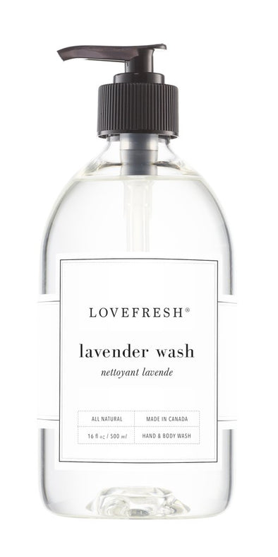 LAVENDER HAND & BODY WASH<br><span>Lovefresh</span>