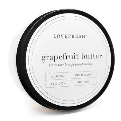 GRAPEFRUIT BODY BUTTER<br><span>Lovefresh</span>