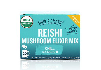 INSTANT REISHI MUSHROOM ELIXIR MIX<br><span>Four Sigmatic</span>