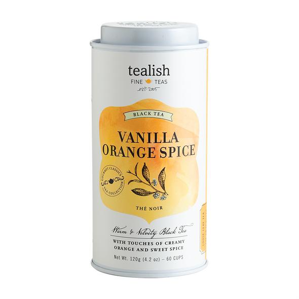 VANILLA ORANGE SPICE<br><span>Black Tea</span>