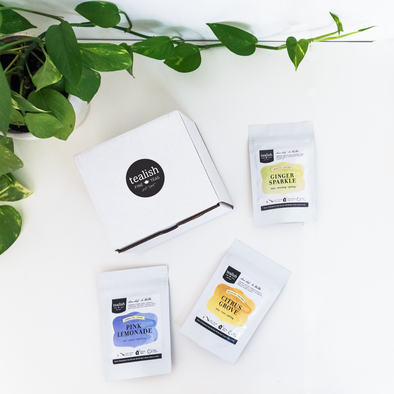TEA IN THE MOMENT<br><span>Monthly Subscription Box</span>