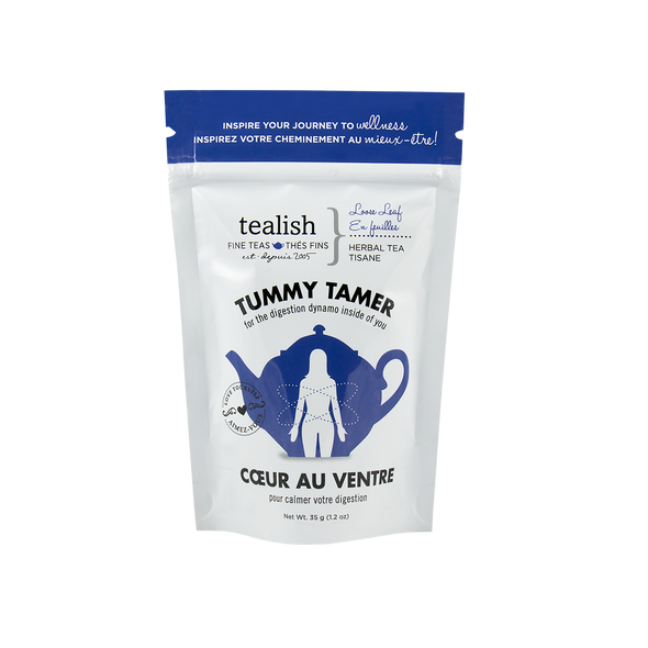 TUMMY TAMER GIFT POUCH<br><span>Herbal Tea</span>
