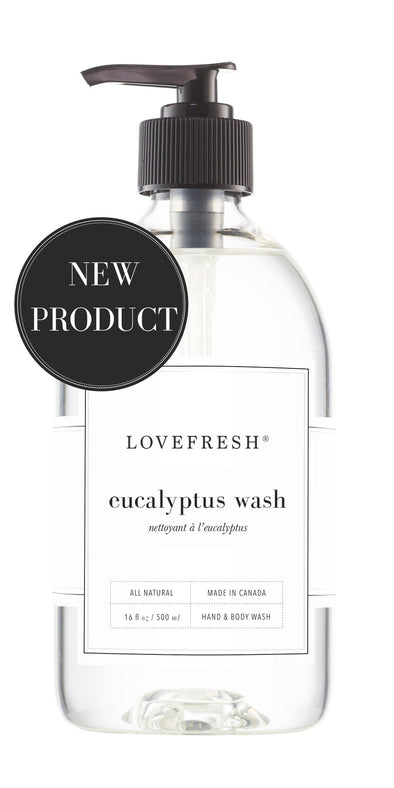 EUCALYPTUS HAND & BODY WASH<br><span>Lovefresh</span>