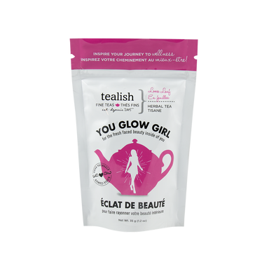 YOU GLOW GIRL GIFT POUCH<br><span>Herbal Tea</span>