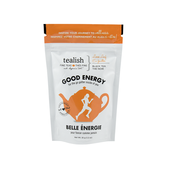 GOOD ENERGY GIFT POUCH<br><span>Black Tea</span>