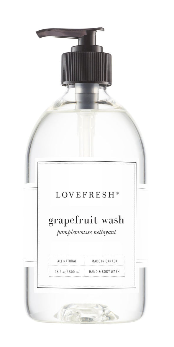 GRAPEFRUIT HAND & BODY WASH<br><span>Lovefresh</span>