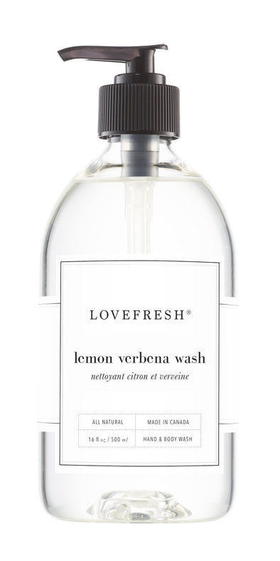 LEMON VERBENA HAND & BODY WASH<br><span>Lovefresh</span>