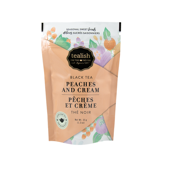 PEACHES & CREAM GIFT POUCH<br><span>Black Tea</span>