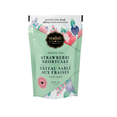 STRAWBERRY SHORTCAKE GIFT POUCH<br><span>Green Tea</span>
