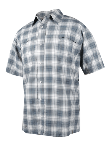 TRU-SPEC 24-7 Men's Plaid Cool Camp Shirt - 58/42 Nylon Polyester - OPSGEAR - 1