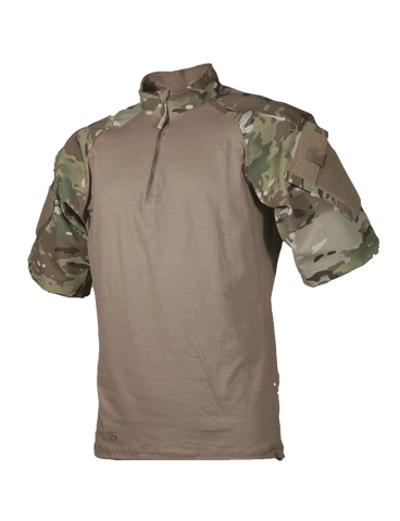 TRU-SPEC TRU Short Sleeve 1/4 Zip Combat Shirt - OPSGEAR - 1
