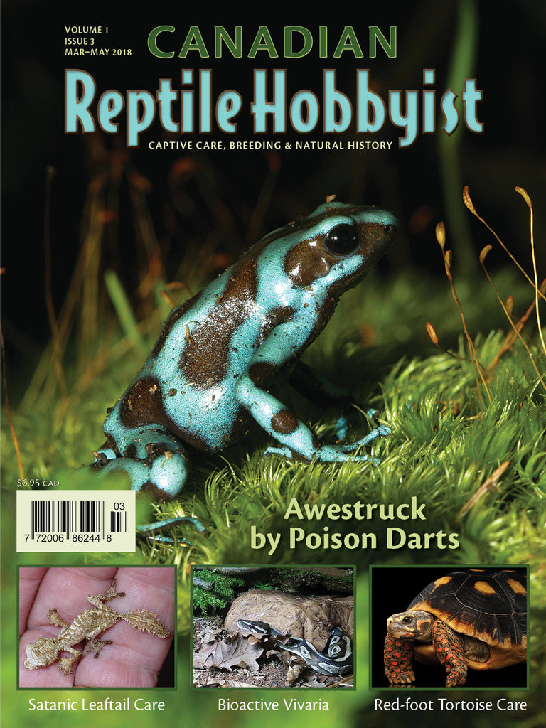 Canadian Reptile Hobbyist 3rd issue