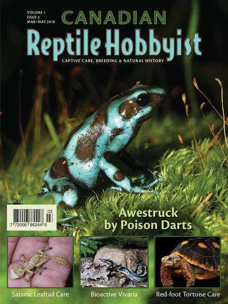 Canadian Reptile Hobbyist Issue #3 ebook