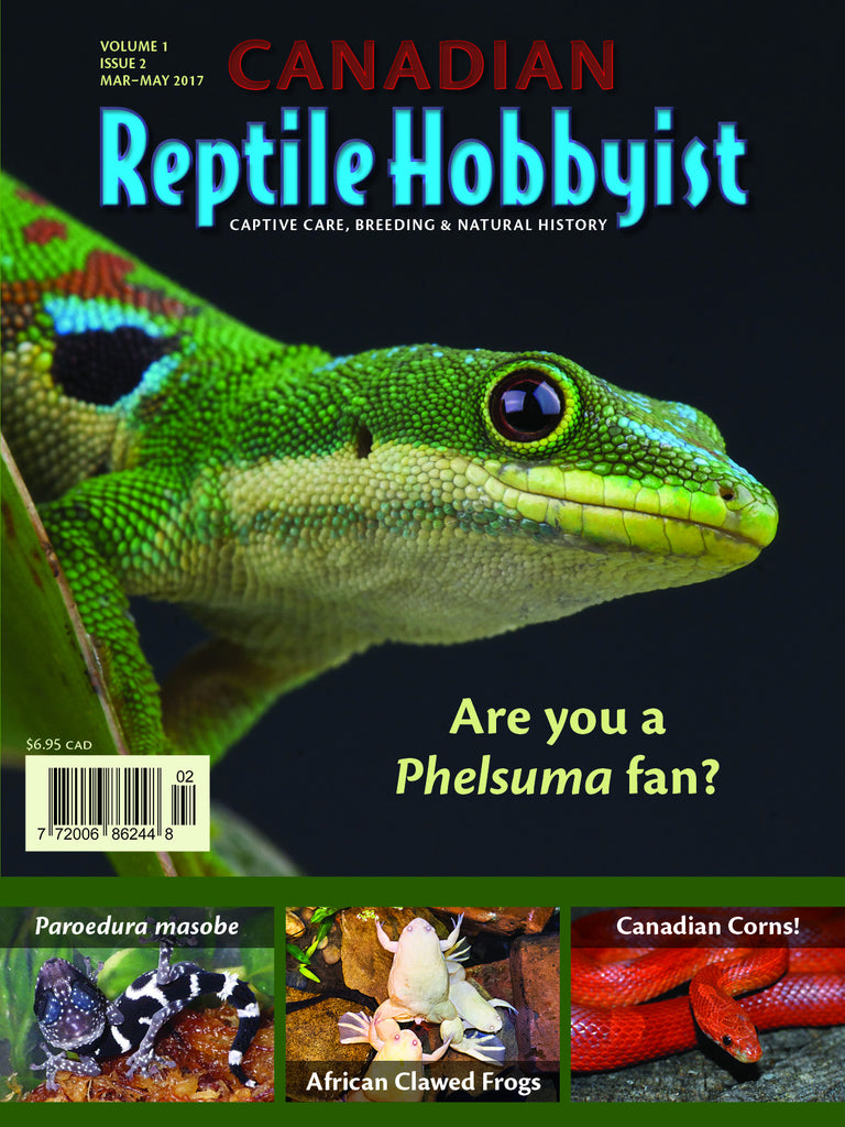 Canadian Reptile Hobbyist 2nd issue