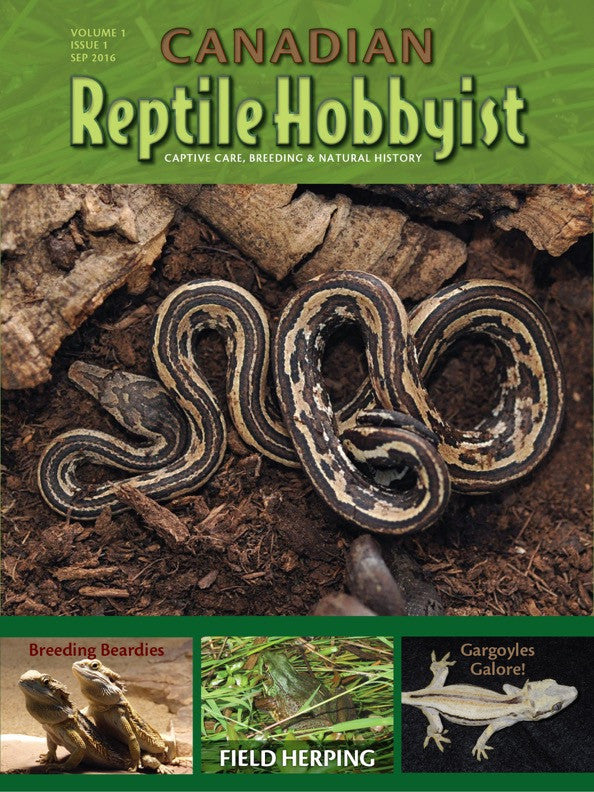 Canadian Reptile Hobbyist first issue