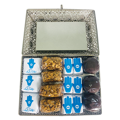 Eternally Grateful - Silver Sweets Gift Box