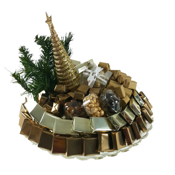 Golden Tree Stardust Tray