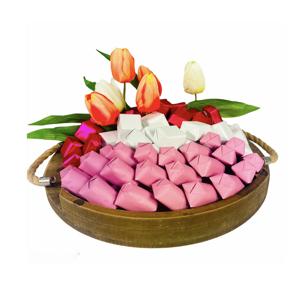 Serene Blessings - Medium Chocolate Tray