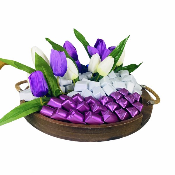 Serene Blessings  - Large Chocolate Tray