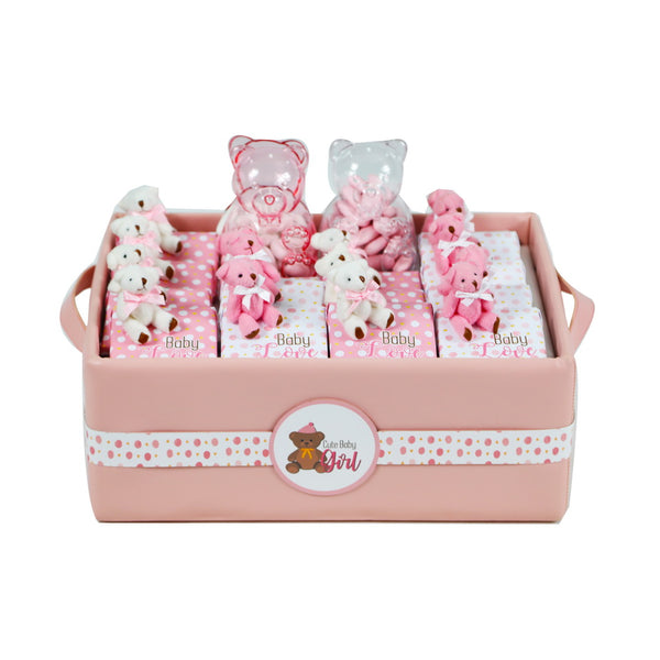 Teddy Chocolate Basket - Medium