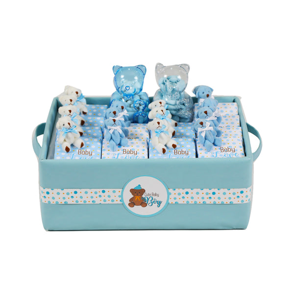 Teddy Chocolate Basket- Medium