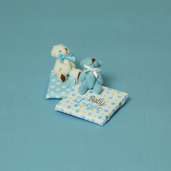 Baby Teddy Chocolate (Pack of 30)- Boy
