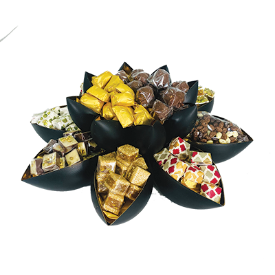 Generous Gesture - Large Assorted  Sweets Centerpiece