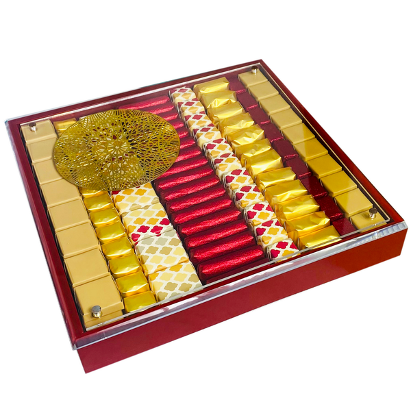 The Ultimate - Large Red Assorted Luxury Chocolate Gift