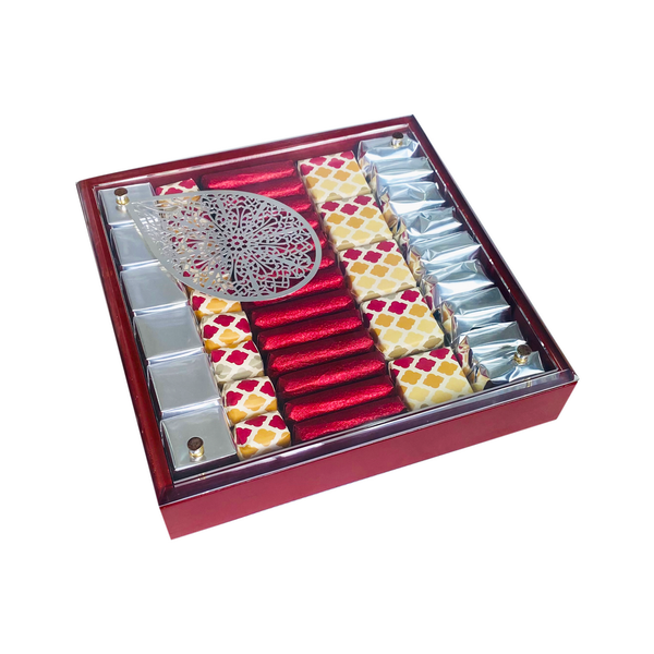 The Essentials - Medium Red Assorted Luxury Chocolate Gift