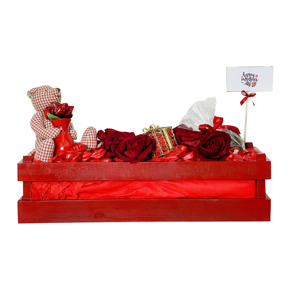 Lips and Hearts Chocolate Tray
