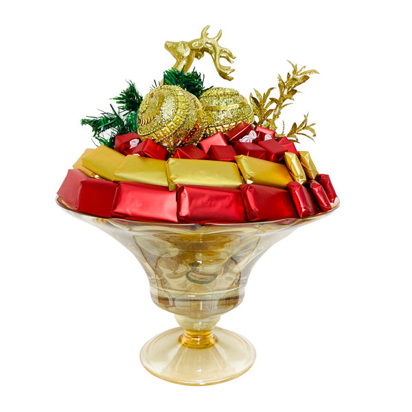 Christmas Is Here Vase