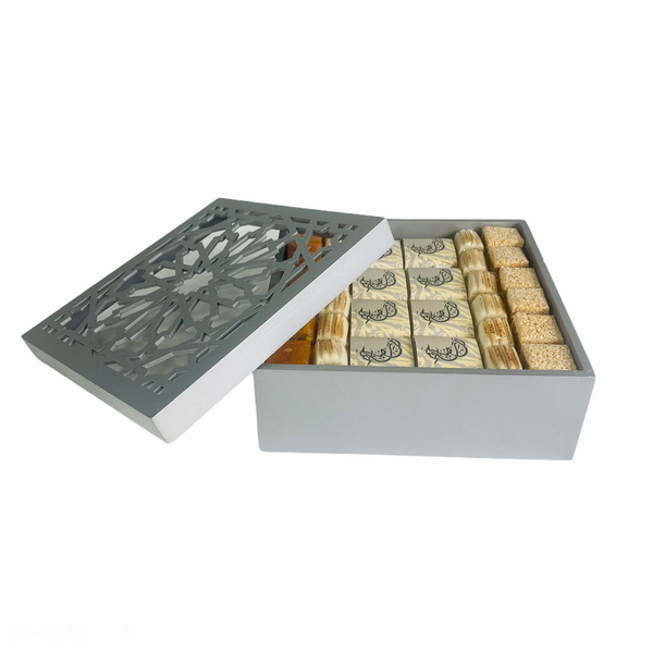 Sweets in Silver - Assorted Sweets Box