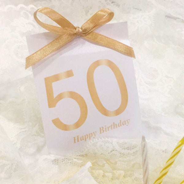 50 Years Birthday Chocolate