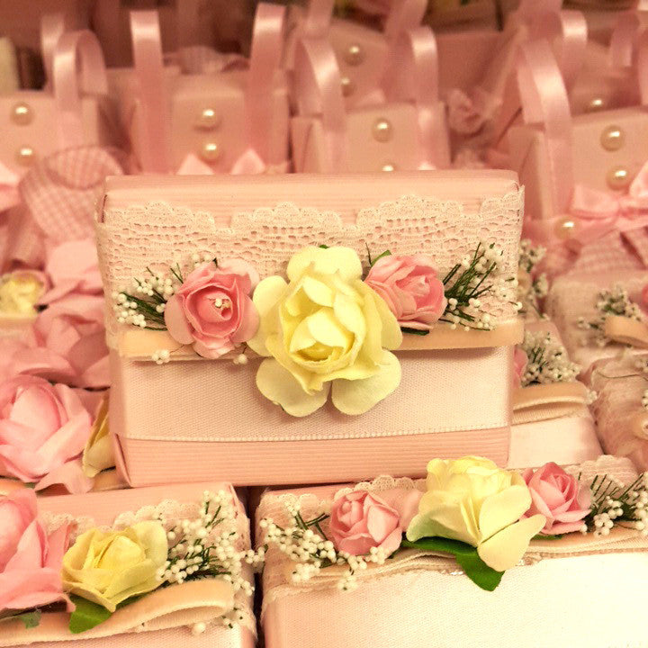 Pinky Floral Chocolate - Pack Of 12 pcs