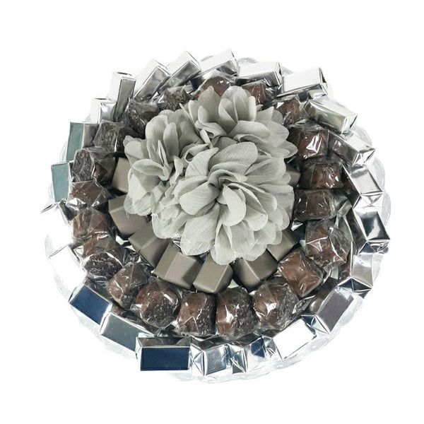 Beige & Silver Classical Arrangement