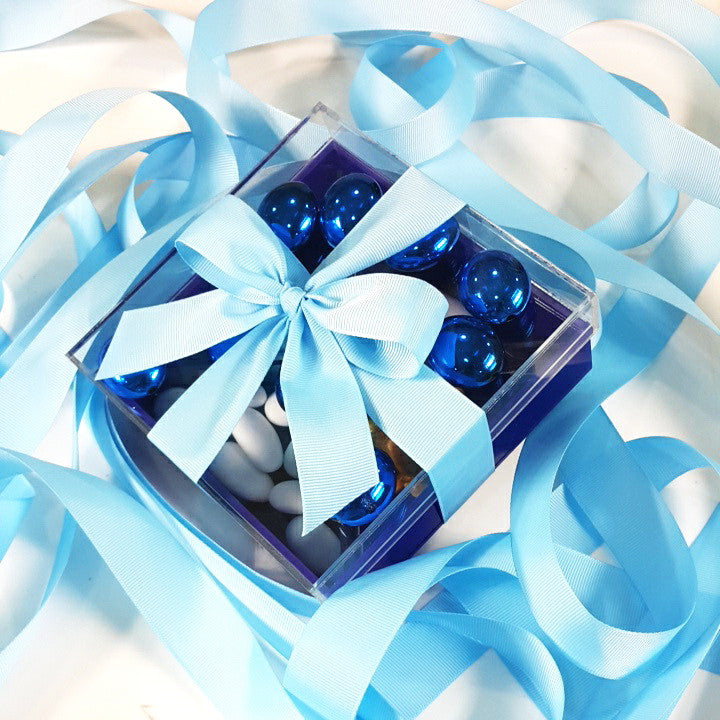 Shiny Blue Box