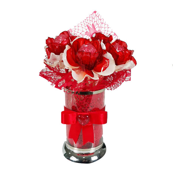Love Pot Flower Bouquet Chocolate
