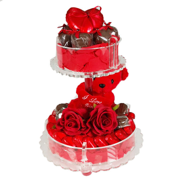 Double Love Chocolate Plexi Tray