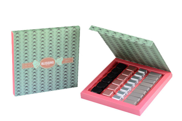 29 Pcs Patterned Prepacked box